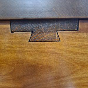 zoom sur système d'extension de table