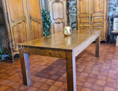 Table Merisier Rallonge incorporée